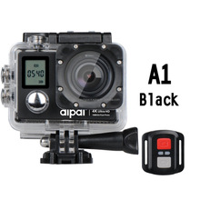 4K Action Video Camera With WIFI 2.4G Wireless Wrist Remote Controller