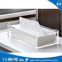 New style acrylic tissue box holder,facial tissue box holder,acrylic napkin box