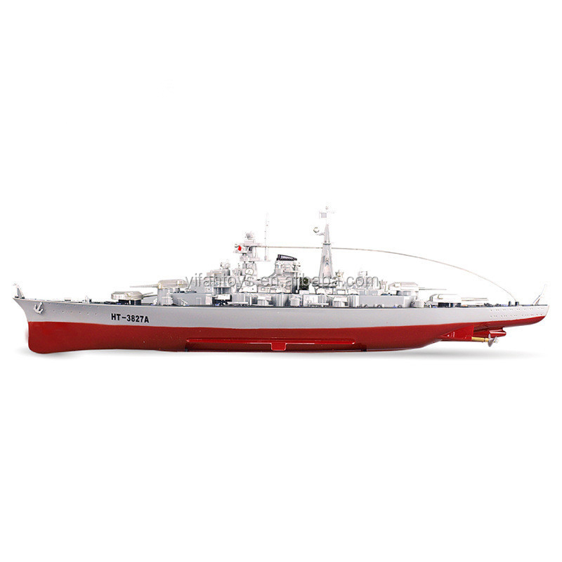 1:360 scale remote control boat rc warship RC Boat for sale