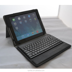 portable leather case laptop with detachable keyboard for ipad