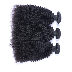 Best selling brazilian human hair weave with curly hair extension for black women