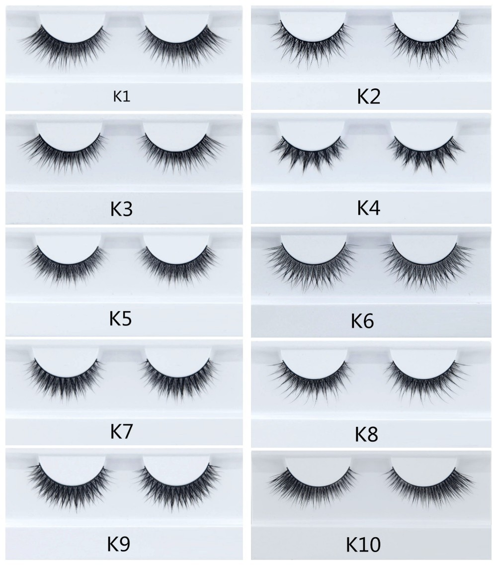 Premium 3D Mink Lash Private Label Strip False Eyelashes Wholesale 100% Real Mink Fur Handmade eye lash