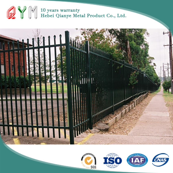 Powder Coated Steel Wire Palisade Fencing Wrought Iron Palisade Fence Panel