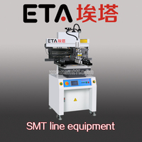 semi-auto SMT PCB Solder Paste screen Printer P6