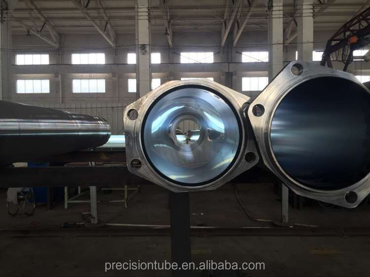 ST52 chromed and honed steel tube for concrete delivery cylinder