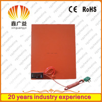 24 Volt Silicon hotplate flexible heating element