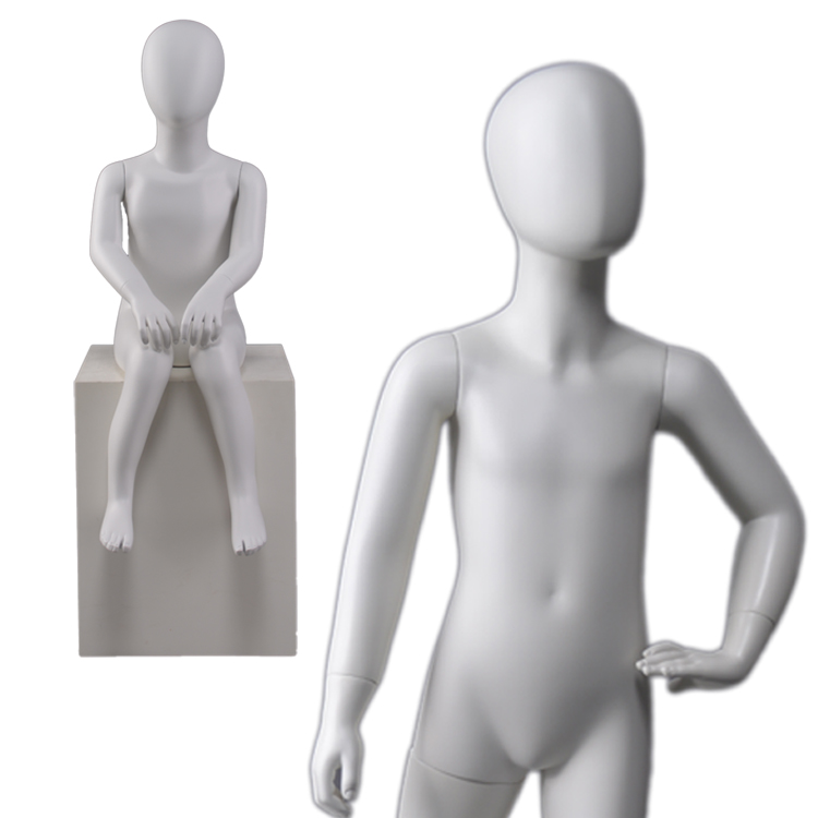 very young female teenager sex boy or teen kids abstract dummy girl model children kids abstract mannequin for children