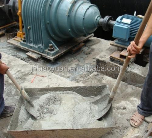 Grouting and fixing of bridge expansion joint