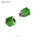 DIN standard pipe fitting adapter ppr female socket coupling threaded ends