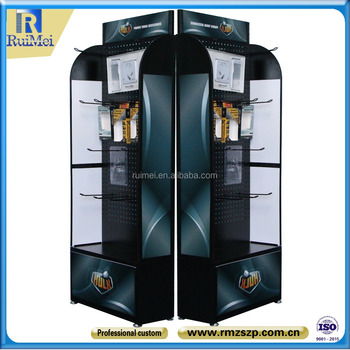 Floor Standing Mobile Phone Accessory Display Stand