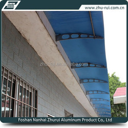 customized wall mounted aluminum roof canopy/outdoor canopy metal roof /aluminum carport canopy