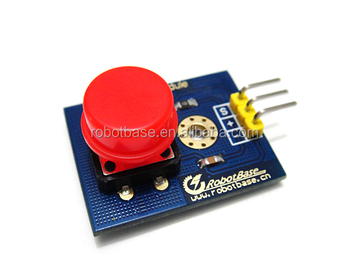 Arduino Red Digital Push Button Module
