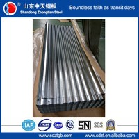 1000mm/875mm wide galvanized corrugated steel roofing sheet zinc coated roof tile