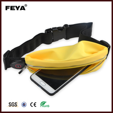 Fashion Sports running belt ,Neoprene waterproof elastic Waist bag