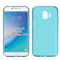 clear Transparent soft mobile phone case for Samsung Grand prime pro 2018 tpu back cover