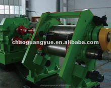 rubber mixing mill price / rubber two roll mill / used tyre machine