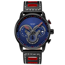 Wholesale China Promotional Custom Brand Geneva Stainless Steel Luxury Quartz Men Chronograph Watch