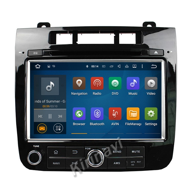 Kirinavi WC-VT8009 Android 5.1.1 2 din car dvd player for vw touareg 2010-2014 android navigator radio system support video