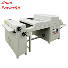 digital 650mm photo paper uv liquid coating machine for graduation wedding album making