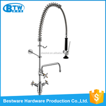 2016 hot sale high quality single hole deck mounted dual handle promise faucets