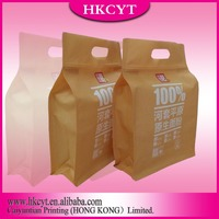 Kraft paper sack bags with PP laminated, flour bags, powder chemical bags