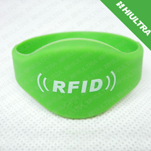 Waterproof Smart Silicone EM4305 Hitag S Event ID Wristband For event, sports, club, gym