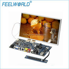 TFT LCD SKD monitor 8inch touch panle with VGA,Audio and double Video