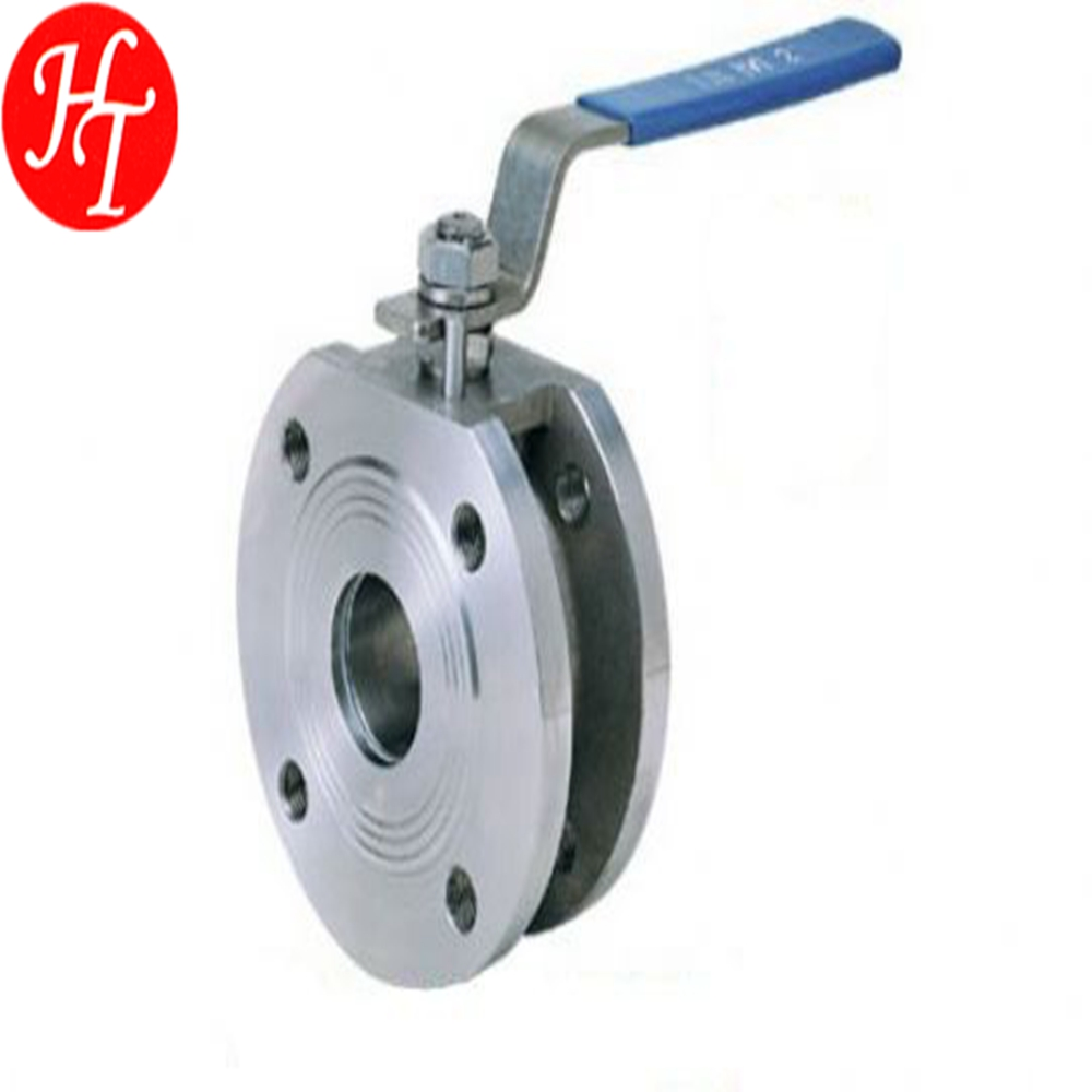DN15 Free sample 1PC Wafer Flanged Ball Valve price list