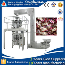 Multi-function high precision measurement for potato chips/candy/chocolate bar full automatic packing machine