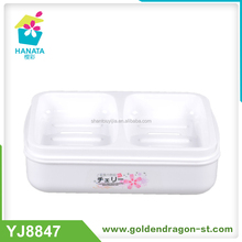 Double Grids Plastic Soap Case With Print Plastic Soap Case