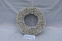 Hot home decoration rattan Christmas wreath