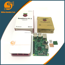Raspberry Pi 3 Startert wit Kih Raspberry Pi 3 Model B + case + Heatsinks pi3 b pi 3b with wifi & bluetooth
