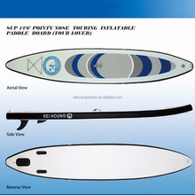 "12'6"" length inflatable surf paddle board"