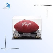 Custom printed clear transparent acrylic box with lid