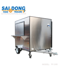 high quality towable food concession trailer for sale