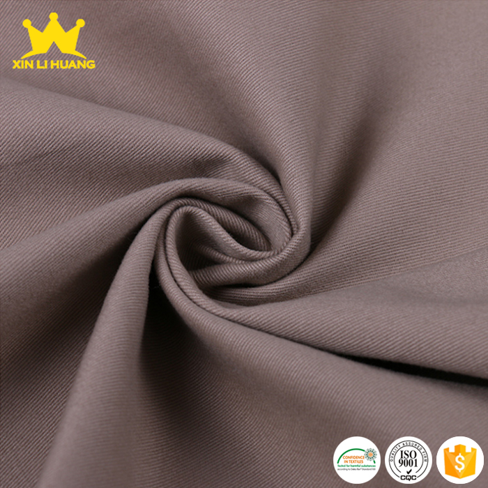 High Quality Workwear Fabric Cotton Twill Fabric for Pants