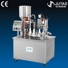 Plastic tube filling sealing machine,cream tube fill seal machine