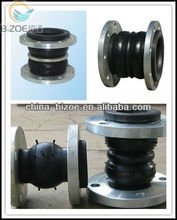 factory supply galvanized flanged flexible rubber joint