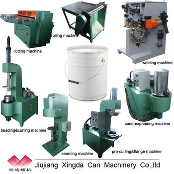 10-20l cans making machine production line