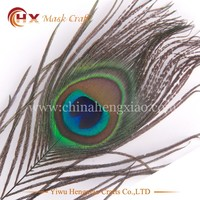 Factory Wholesale synthetic peacock feathers for sale cheap