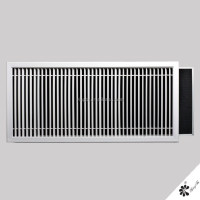 Return Air Grilles-Slimline Grille with Filter