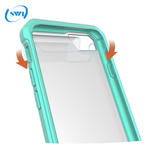 For iphone 8 7 transparent tpu Air Hybird armor Phone case