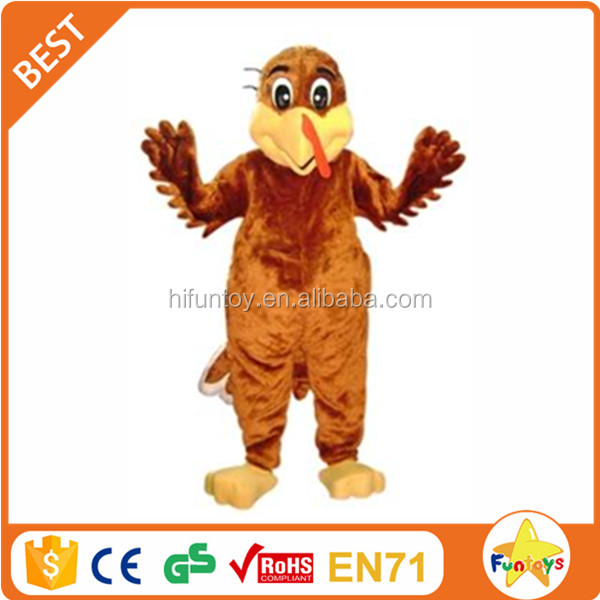 Funtoys CE Adult Thanksgiving Paul Turkey Mascot Costume
