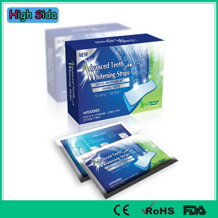 14Pairs/Box Advanced Teeth Whitening Strips