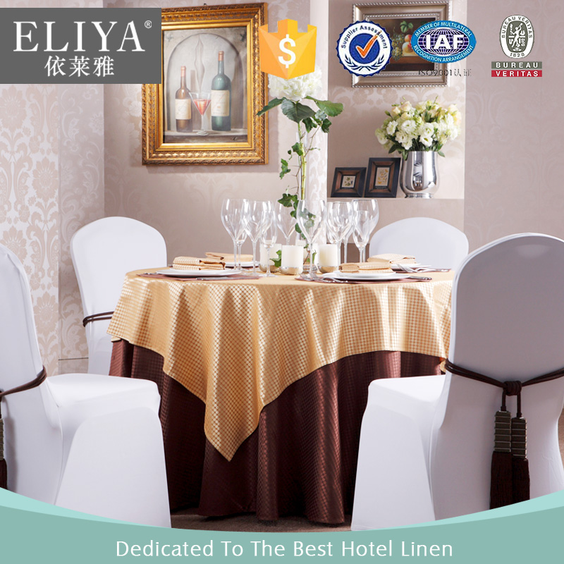 ELIYA Elegant Tablecloth Double Layer Party Tablecloth