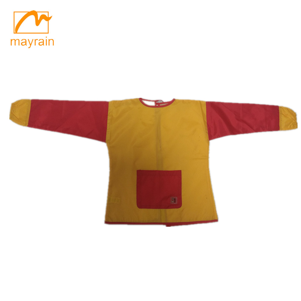 High quality customized kids apron for drawing