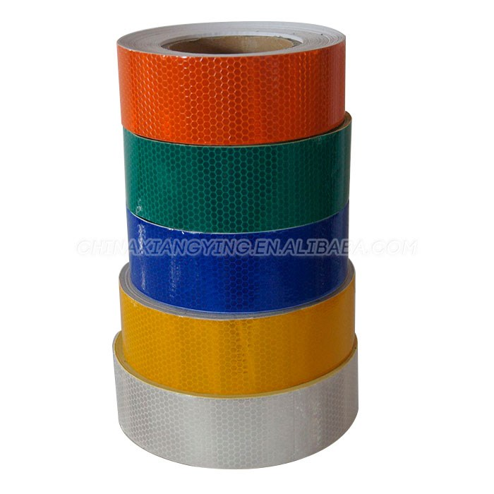 Plain color high intensity reflective tape sticker, 3m reflective material