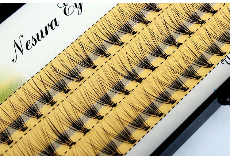 Beautiful Individual eyelash Y lash extension W individual eyelashes with factory price