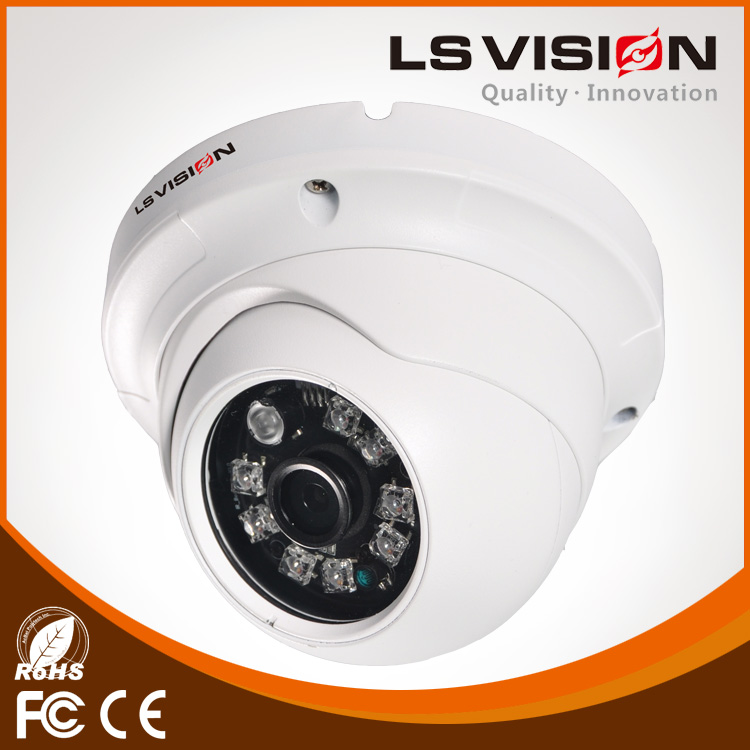 LS VISION everfocus color cameras full hd dome camera dome ip sd card recording ip dome camera