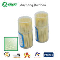 Factory products Ancheng Bamboo fancy cocktail toothpicks